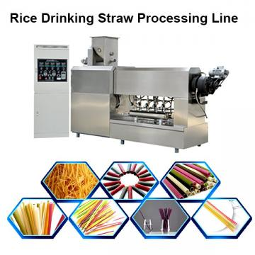 2020 popular automatic industrial long cut pasta rice macaroni rice drinking straw making machine