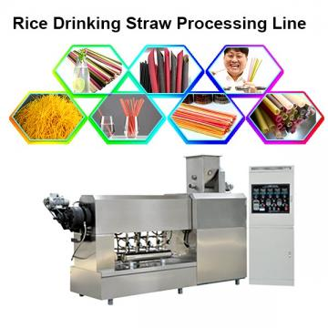 Natural rice flour drinking straw making machine pasta straw making machine
