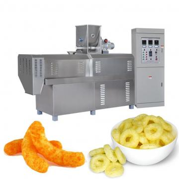 Double Screw Extruder Stainless Steel Corn Curls Machine Onion Rings Making Machine