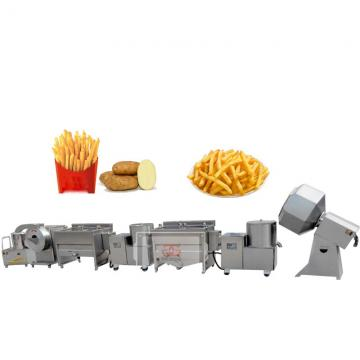 Automatic French Fries Processing Potato Chips Machine