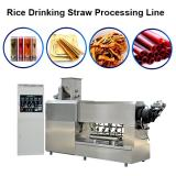 Full Automatic single screw extruder pasta straw making machine